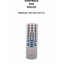 Controle Remoto Dvd Philco Dvt-100 Dvt-101