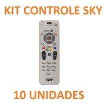 10 Controle Remoto Sky S14 Tv Livre Pre Pago Envio Imediato