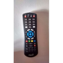 Controle Remoto Claro Tv Hd Via Embratel Hd Original Preto