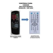 Controle Remoto Raf Electronics Vmp-2000 Vmp2000