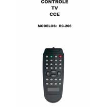 Controle Remoto Tv Cce Rc-206