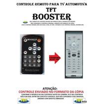 Controle Remoto Tv Automotiva Tft Booster /// Fbt 953