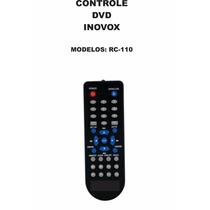 Controle Remoto Dvd Inovox Rc-110 In1216 In1216a