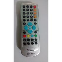 Controle Remoto Hd Claro Tv / Via Embratel Novo Original