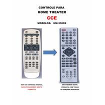 Controle Remoto Home Theater Cce Hm-3300x Hm3300x