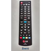 Controle Tv Lg Original Smart Tv C/ Função 3d, Home, My Apps
