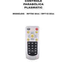 Controle Remoto Receptor Plasmatic Rp700 Slim Rp710 Slim