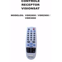 Controle Remoto Receptor Visionsat Vsr2800 Vsr2900 Vsr3000