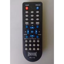 Controle Remoto Dvd Inovox In-1216a / Rc-110 Original