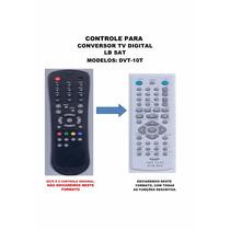Controle Remoto Conversor Digital Lb Sat Lb Dvt-10t