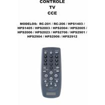 Controle Remoto Tv Cce Rc-201 Rc-206 Hps1403 Hps1405 Hps2023