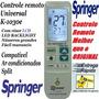 Controle Universal Ar Condicionado Split Springer Carrier