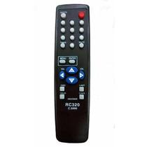 Controle Remoto Para Receptor Tecsat T3200 Rc 320