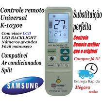 Controle Universal Ar Condicionado Split Samsung Novo