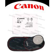 Controle Remoto Original Canon Rc-6 7d 60d T4i T3i T2i 600d