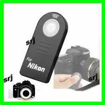 Controle Remoto Nikon D60 D80 D90 D3000 D5000 D7000 Ml-l3