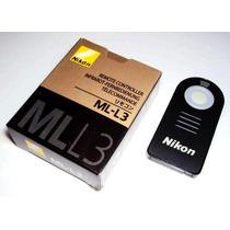 Controle Remoto Nikon Ml-l3 P Dlsr Nikon Ml L3 Frete Grátis