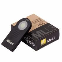 Ml-l3 Controle Remoto Nikon Original D5100 V2 D600 D7000 D80