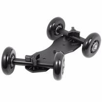 Dolly Mini Car Skater Pista Slider Canon Nikon Para Câmera