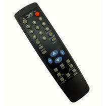 Controle Remoto Teem 8166 Preto Imperdível A4797
