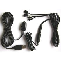 Kit Com 5 Extensores Repetidor De Controle Remoto Até 4 Equ