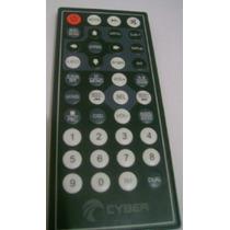 Controle Remoto Dvd Cyber 7 Retratil Cybd-510 / 79- Original
