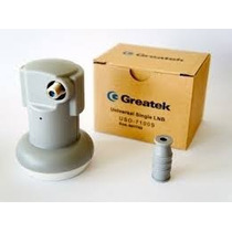 Lnbf Ku Greatek Simples Universal Lnb Hd E Digital Original