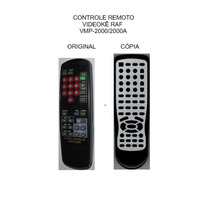 Controle Videoke Raf Electronics Vmp-2000 Vmp-2000s Vmp-200a