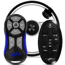 Controle Longa Distancia 1 Master Azul + 1 Vt35 Jfa Combo