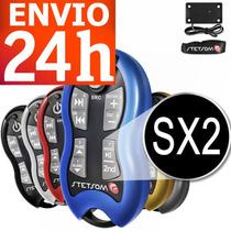 Controle Longa Distância Stetsom Sx1 Sx2 500 Mts Kit Comple