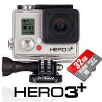 Gopro Camera Hero3 Silver Edition Full Wi-fi Hd Go Pro +32gb
