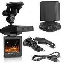 Câmera Hd Video Filmadora Automotiva Tela Lcd