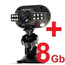 Mini Câmera Espiã Noturna Dvr Full Hd 1080 P/ Carro C/ 8gb!