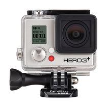 Câmera Digital Gopro Hero3+ Silver Edition Nova   Cinza