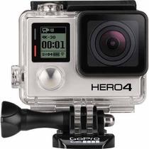 Filmadora Go Pro Gopro Hero 4 Silver + Tela De Lcd. Nova.
