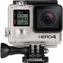 Filmadora Go Pro Gopro Hero 4 Silver + Lcd + 32gb Classe 10