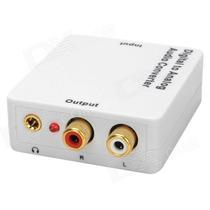 Conversor Óptico Coaxial Digital Para Rca Playvision Hda-2mb