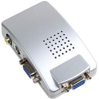 Conversor Vga P/ Rca + S-video Pc P/ Tv Telão Projetor