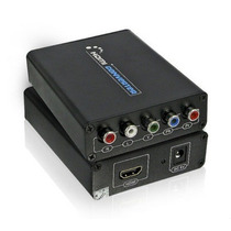 Conversor Adaptador Hdmi Para Video Componente Com Audio L R