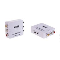 Mini Conversor Ntsc - Pal / Pal - Ntsc 3 Rca