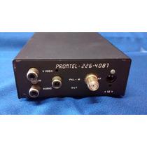 Transcoder Ntsc/pal-m Promtel-ii Sem A Fonte R$ 45,00