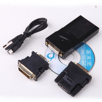 Conversor Usb - Hdmi / Vga / Dvi Adaptador Cabo Tv Pc Mac Nf