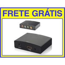 Conversor Video Componente X Hdmi Feasso Frete Grátis