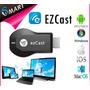 Wifi Display, Ezcast Hdmi, Airplay, 720p, 1080, Sedex Gratis
