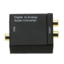 Adaptador Conversor De Áudio Digital Para Analógico