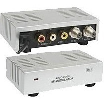Mini Modulador Conversor De Rf Para Tv Pronta Entrega