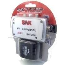 Modulador Conversor Rf Universal Tv Dvd Game Ant /av Bak