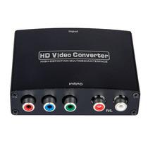 Conversor Hdmi Para Vídeo Componente Ypbpr (rgb) Áudio L/r