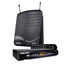 Kit Conversor Digital Aquario Dtv 8100 + Antena Interna