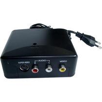 Modulador Rf - Câmeras/vídeo Game/dvd No Canal 3 Da Tv!
